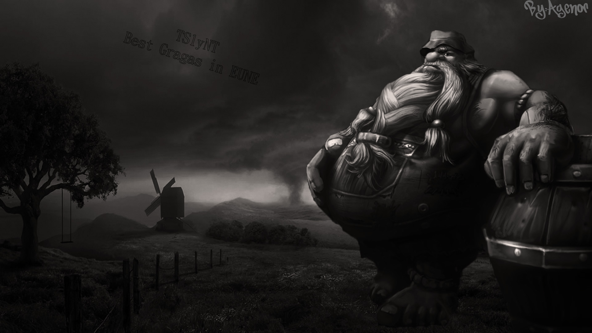 Gragas HD Wallpaper for my friend TSlyNT by Agenorhun 1920x1080