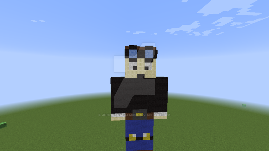 DanTDM Statue by johnnynapalm360 1024x576