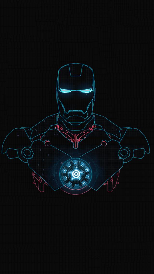 Iron Man IPhone Wallpaper 1 640x1136