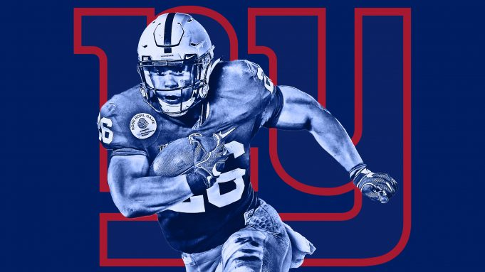 New York Giants select Saquon Barkley with the 2nd pick in 681x383