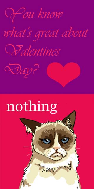 Grumpy Cat Valentine by Whyamithewerewolf 320x640
