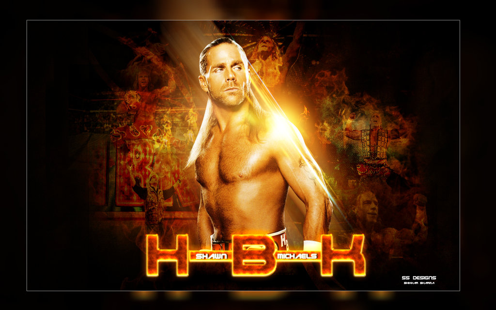 HBK Shawn Michaels Wallpaper by shikhary2j 1024x640
