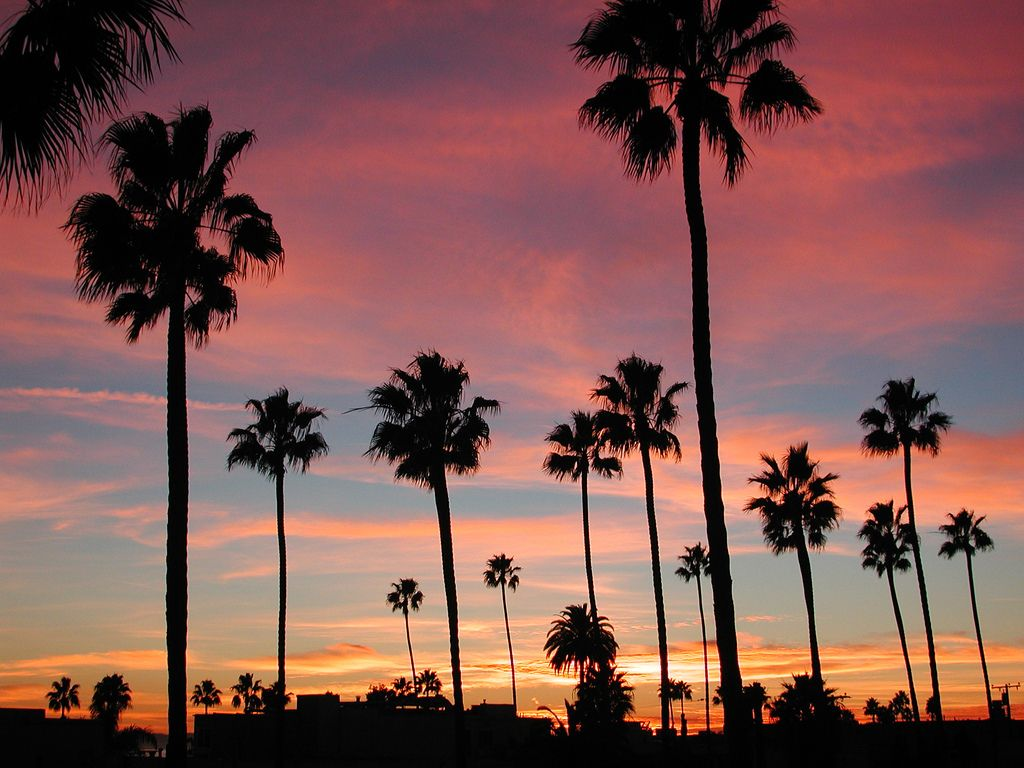 Long Beach California Sunset in 2019 Inspirational Sunsets 1024x768