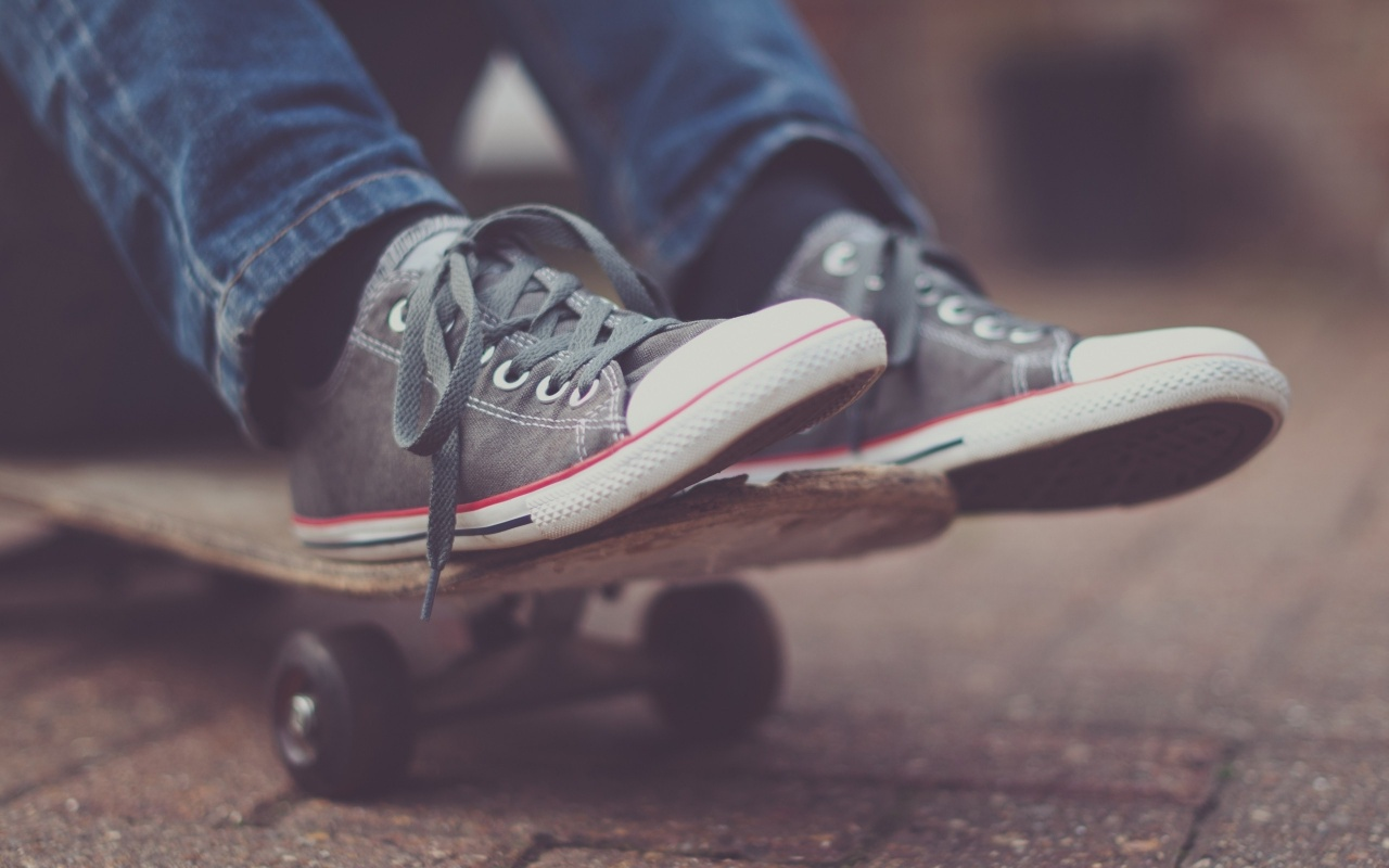 1280x800 Skateboard and Shoes desktop PC and Mac wallpaper 1280x800