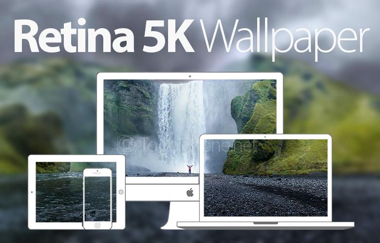 Descargar fondo de pantalla iMac Retina 5K para iPhone 5s 5c y 5 780x500