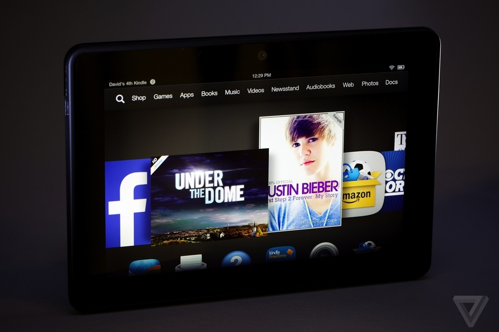 Amazon Kindle Fire HDX review 7 inch Download Wallpaper 1020x679