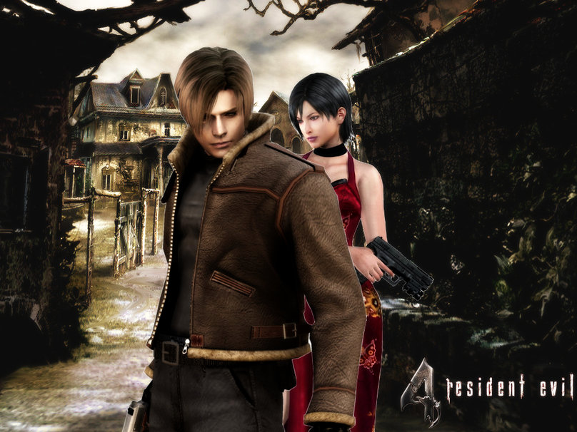 Free Download Resident Evil 4 Leon And Ada Wallpaper