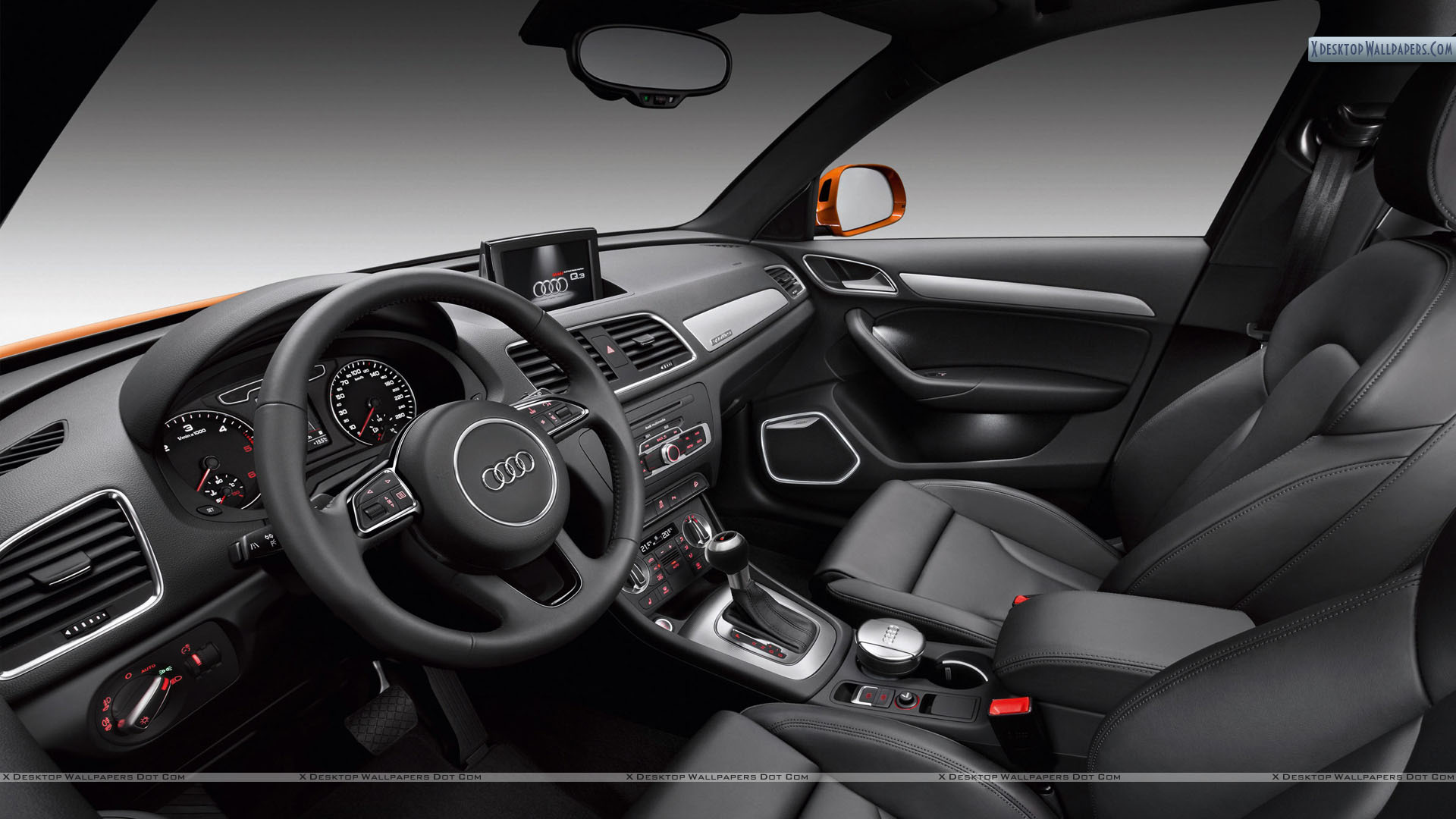 Audi Q3 Interior Picture Wallpaper 1920x1080
