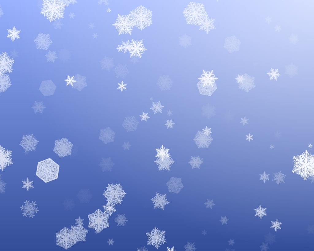 snowflakes falling down backgrounds wallpapersjpg 1024x819