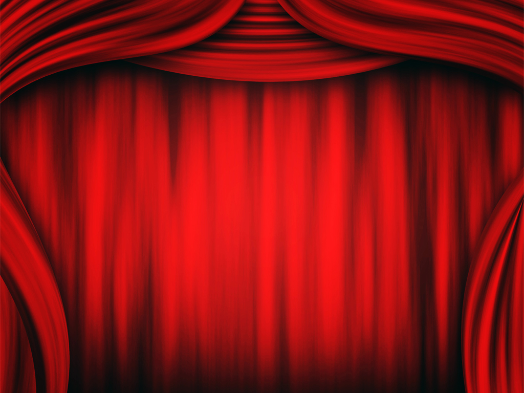 Theater Curtain Backgrounds   PPT Backgrounds Templates 1024x768