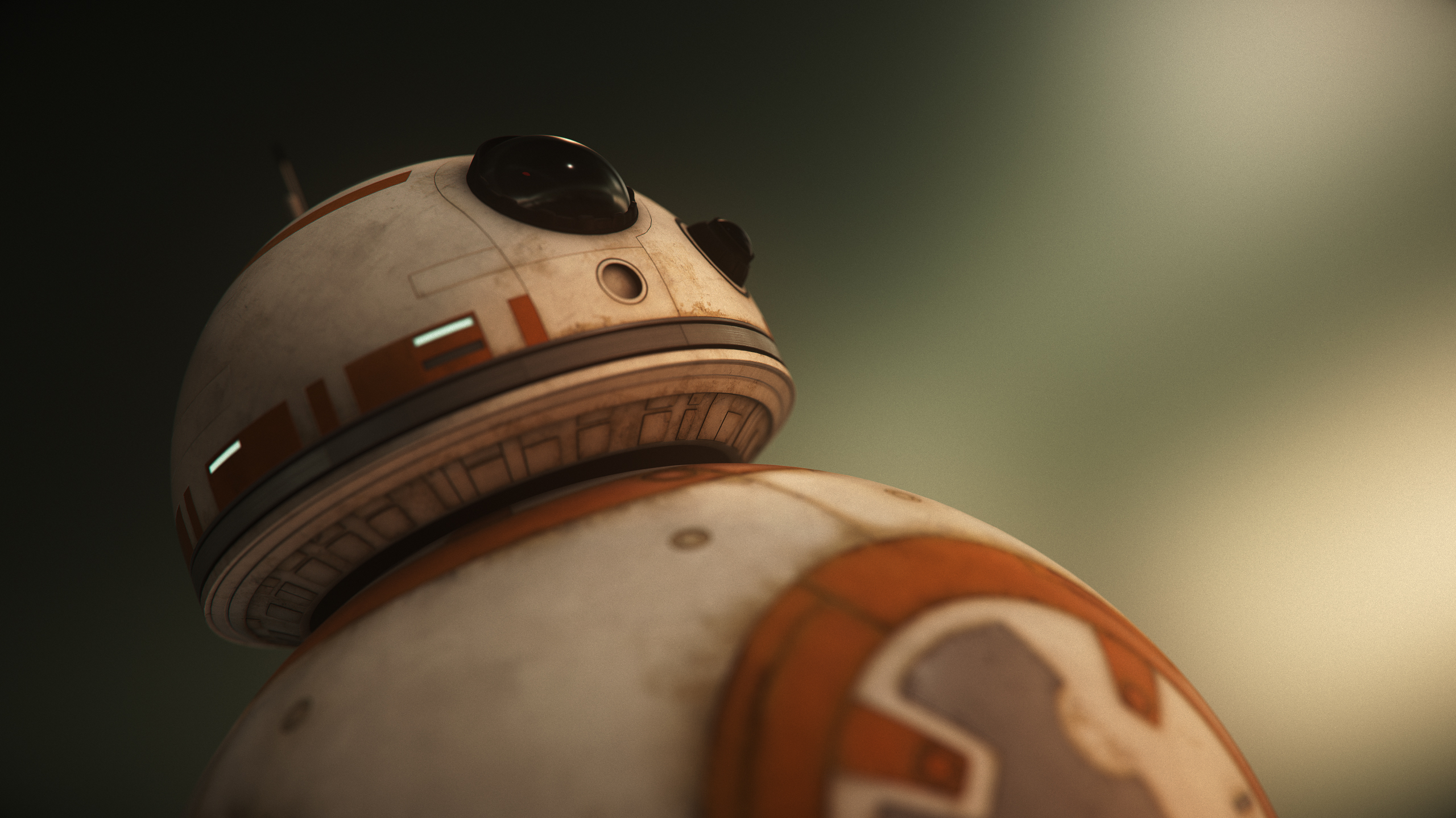 BB 8 Droid in Star Wars Wallpapers HD Wallpapers 2560x1440