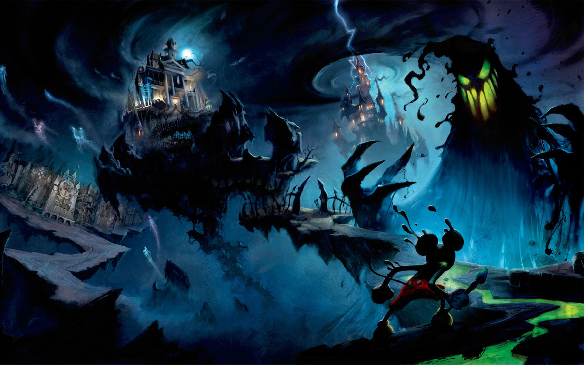 Epic Mickey wallpapers and images   wallpapers pictures photos 1920x1200