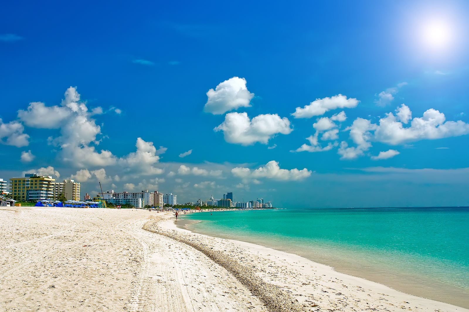 Miami Beach Wallpaper Related Keywords amp Suggestions 1600x1067