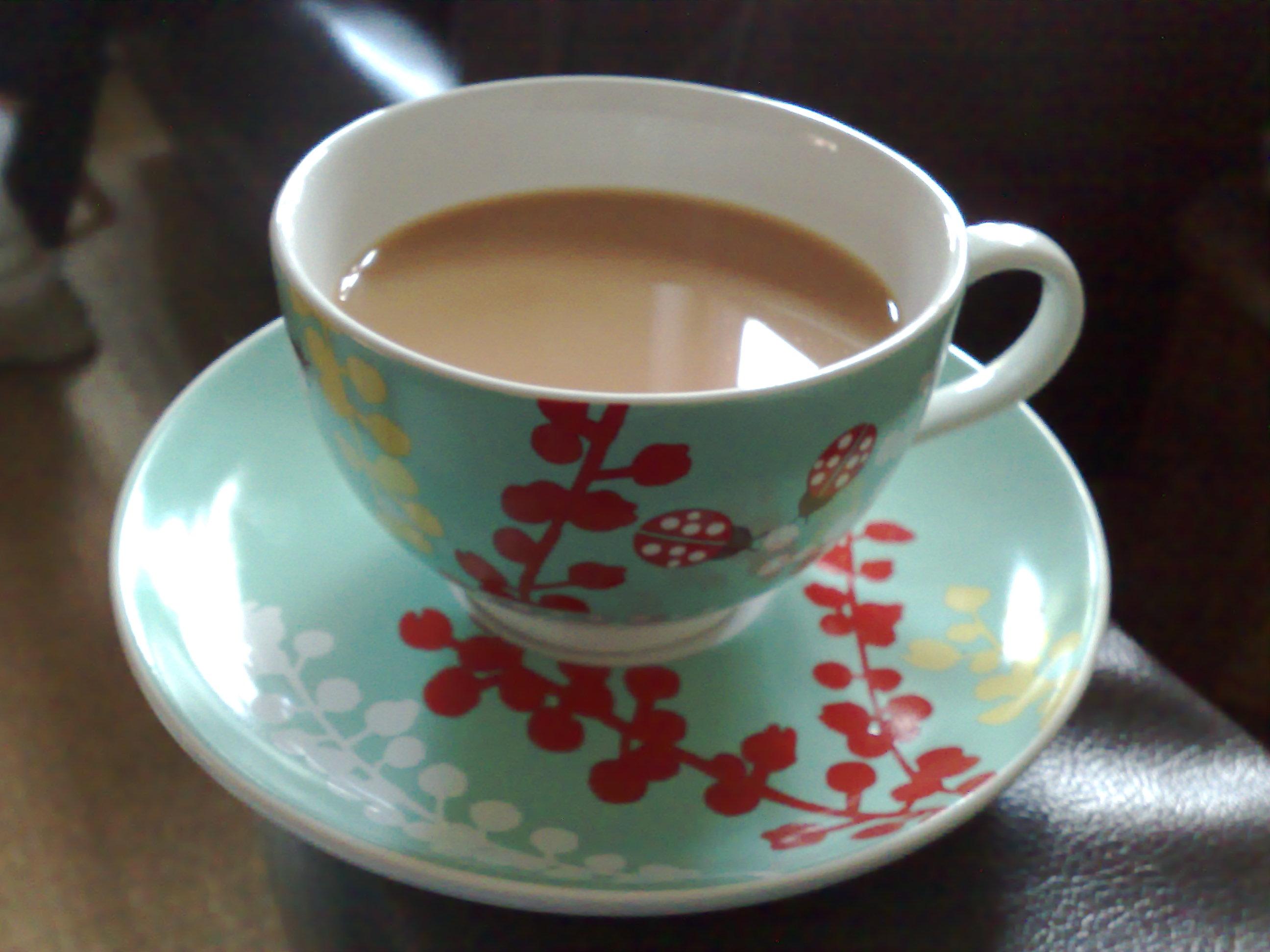Cup of Tea Wallpaper Freetopwallpapercom 2592x1944