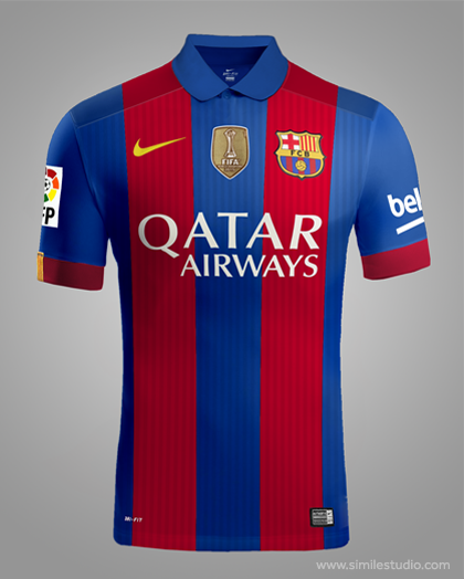 0b3841d11 FC Barcelona 20162017 Rumores Concept Kit on Behance 420x524