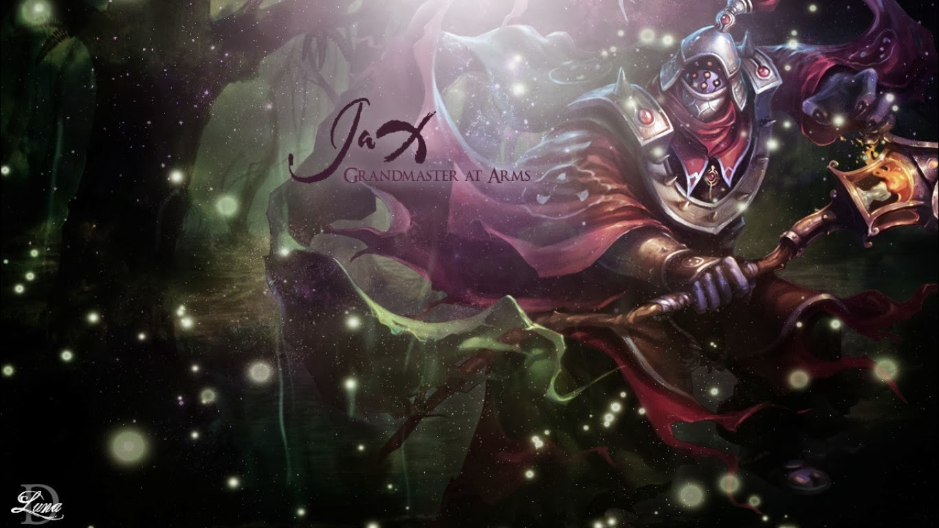 49 League Of Legends Jax Wallpaper On Wallpapersafari