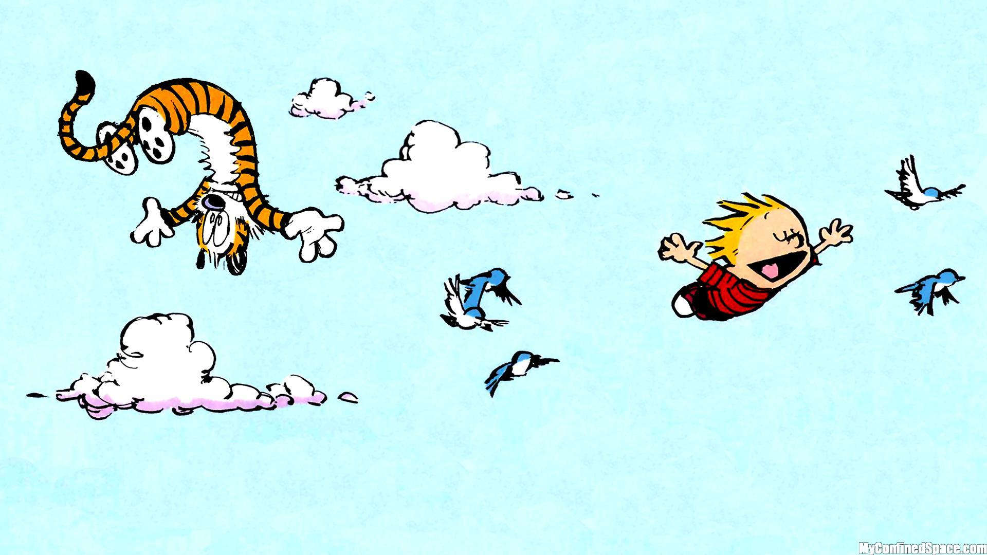 Free Download Calvin And Hobbes Comics J Wallpaper 1920x1080
