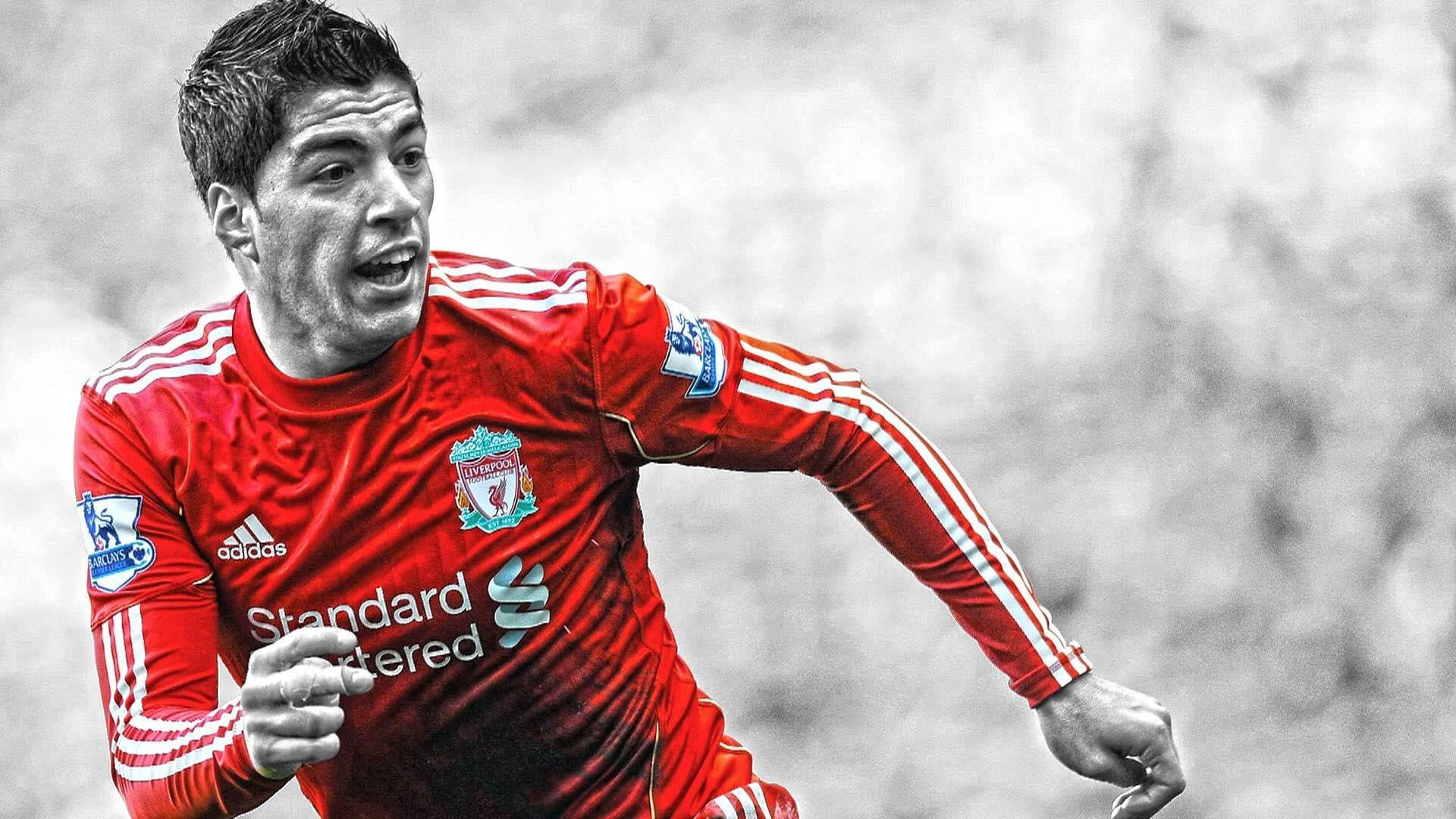 Popular player Luis Suarez wallpaper in HD 1920x1080