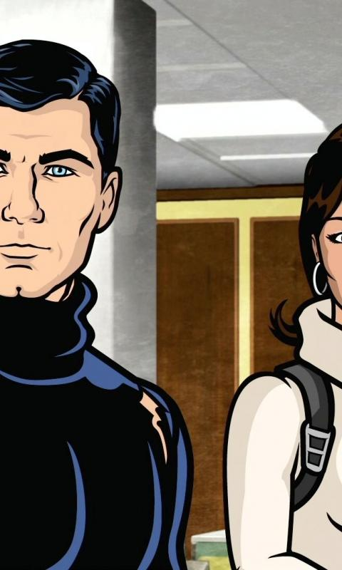 Sterling archer tv lana kane wallpaper 51771 480x800