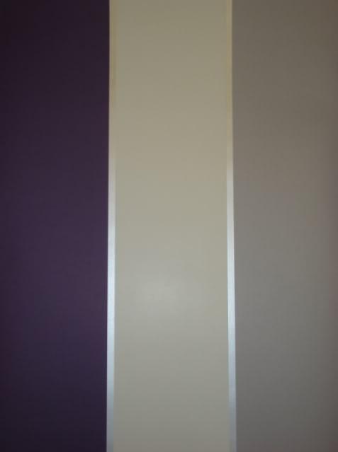 Cream Grey Silver Striped Wallpaper 6170 No Match No Waste eBay 477x639