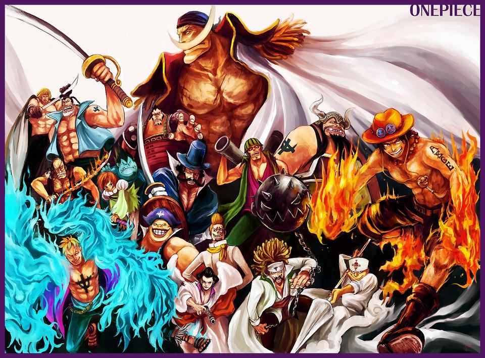 47 One Piece Wallpaper Pirates On Wallpapersafari