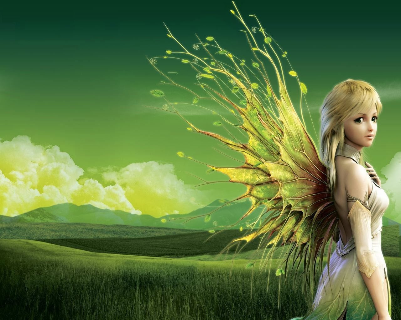 Stunning Hd Fantasy Wallpapers: Beautiful Fairies Wallpapers