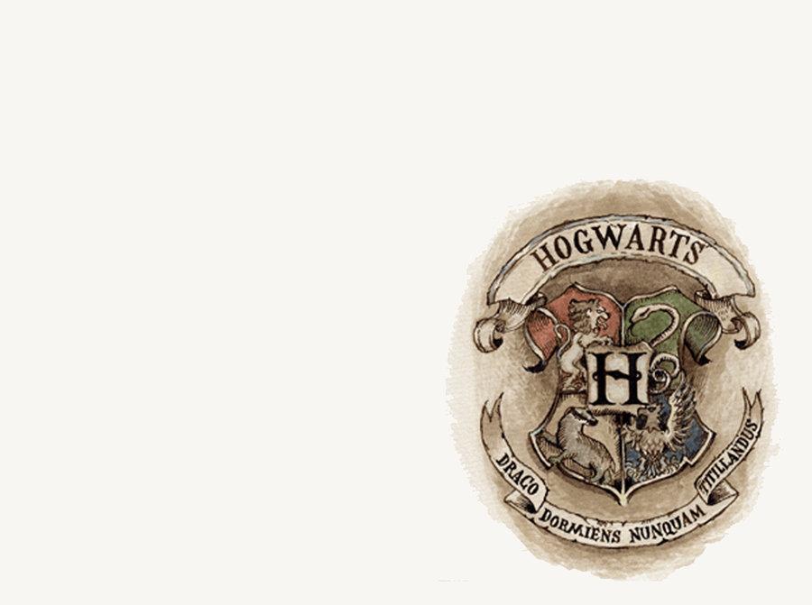 Hogwarts Logo Wallpaper Hogwart Logo Turned Into a 900x671