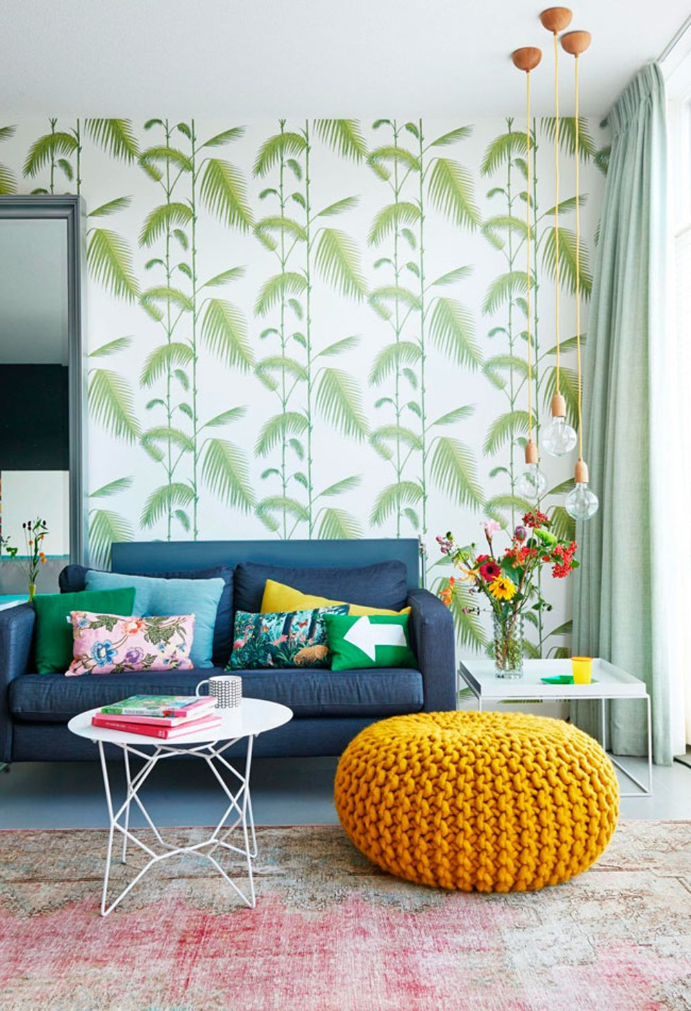 49 Cole And Son Palm Wallpaper On Wallpapersafari