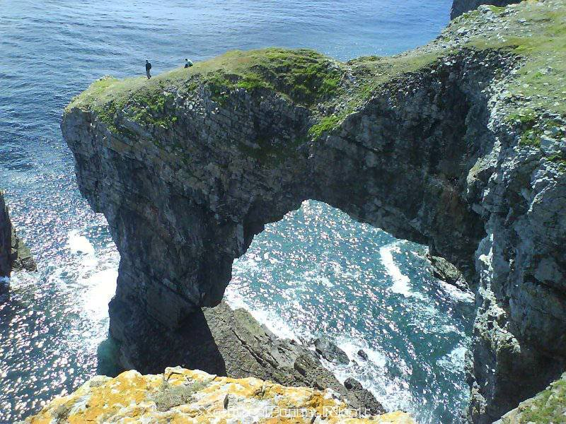 Green Bridge Of Wales Largest Natural Arch HD Walls Find 800x600