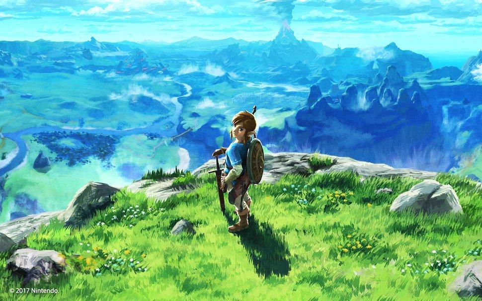 Legend of Zelda Breath of the Wild Desktop Background Wallpaper 970x606