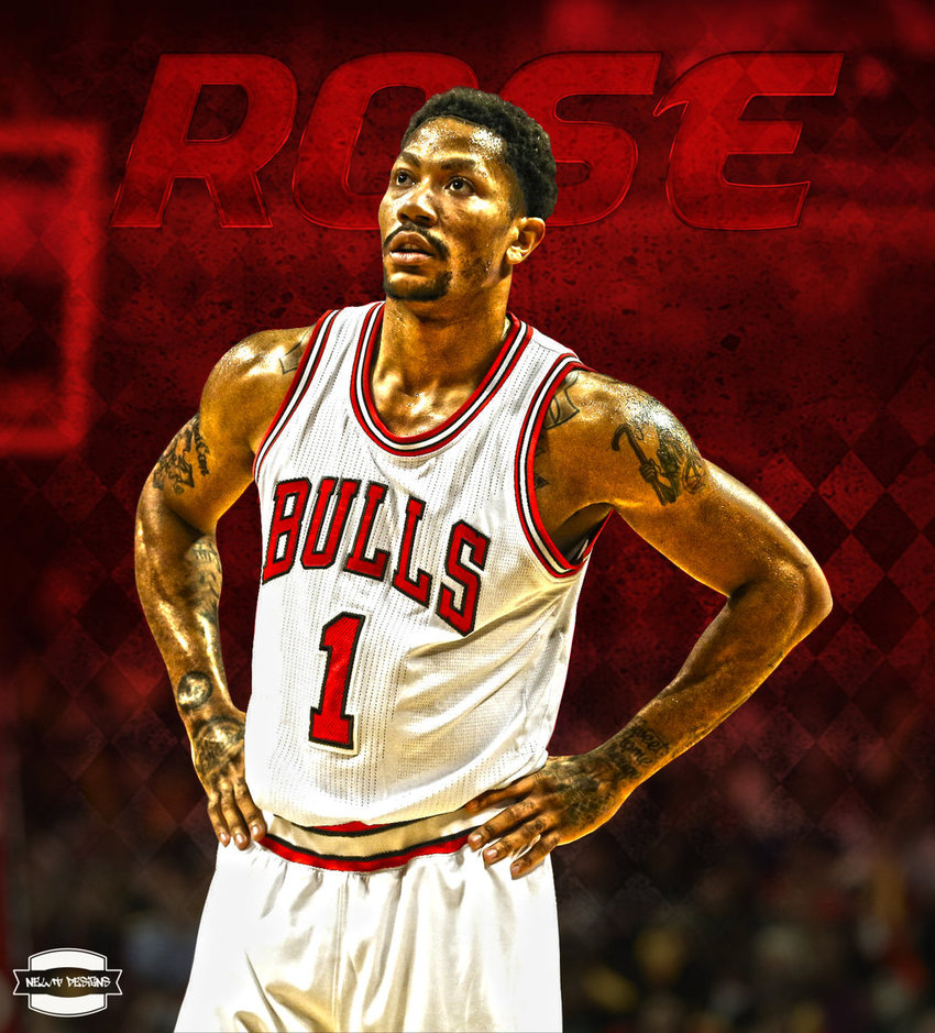 Derrick Rose Edit by NewtDesigns 850x939