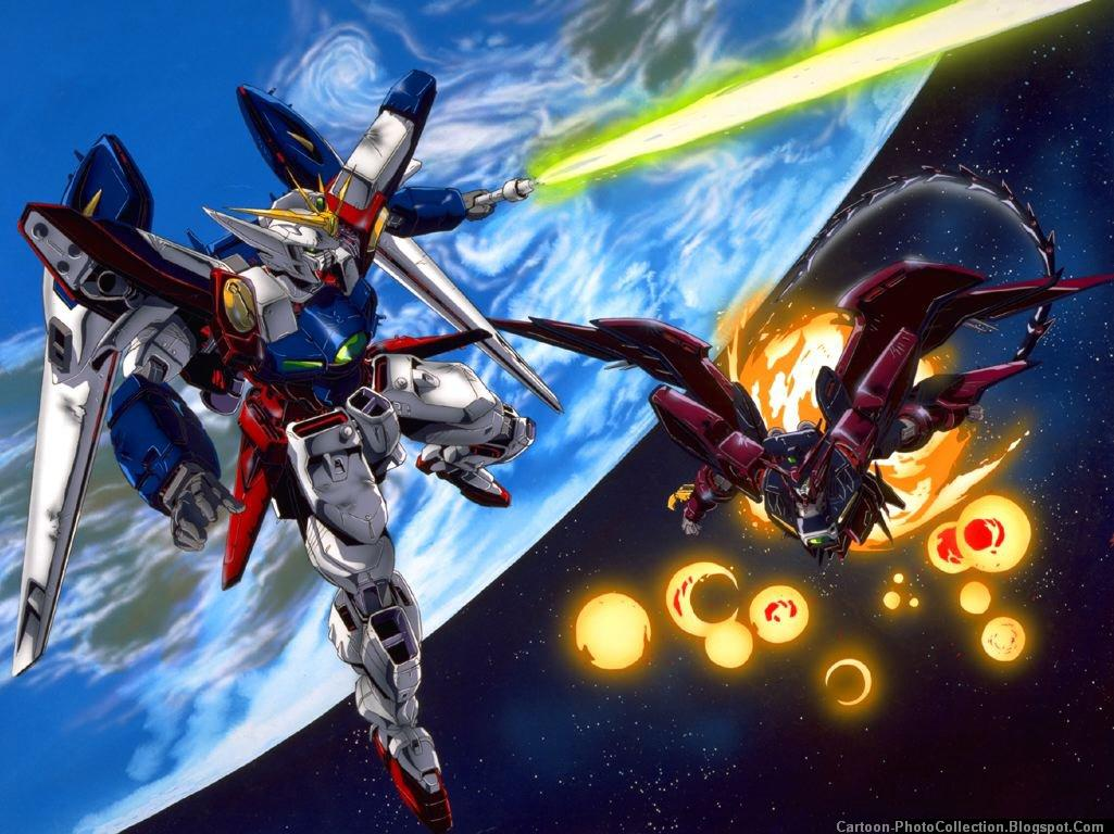 Gundam Wing Cartoon Photos And Wallpapers 1025x768