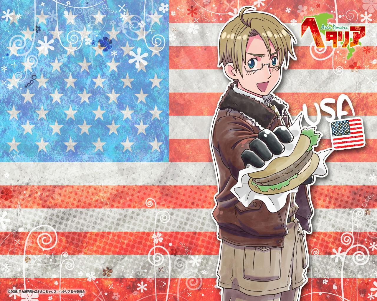 Hetalia Axis Power APH America   Hetalia Wallpaper 13719142 1280x1024