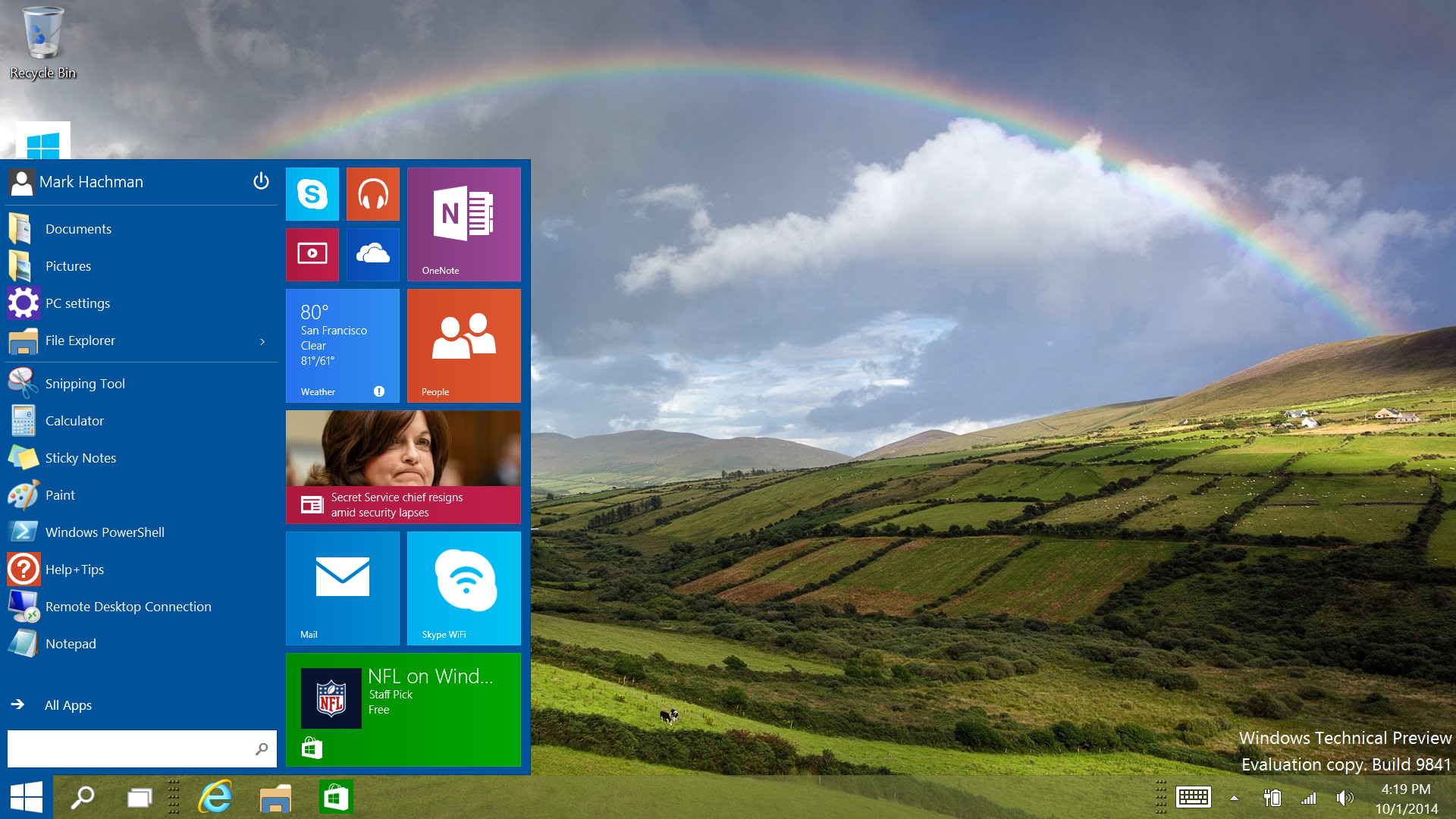 Windows 10 tips Your first 30 minutes with the Technical Preview 1920x1080