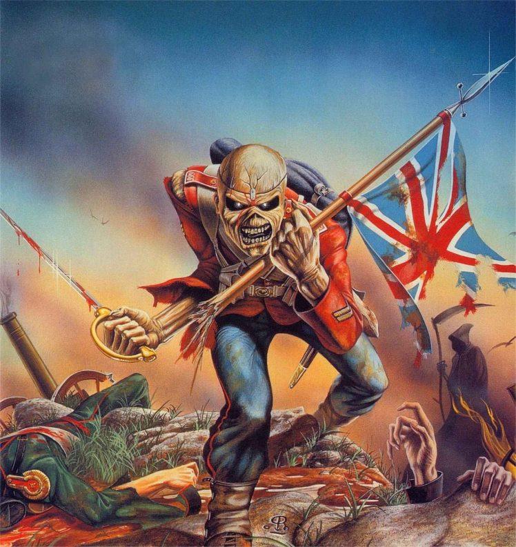 Eddie Flag War Iron Maiden Wallpapers HD Desktop and Mobile 748x793