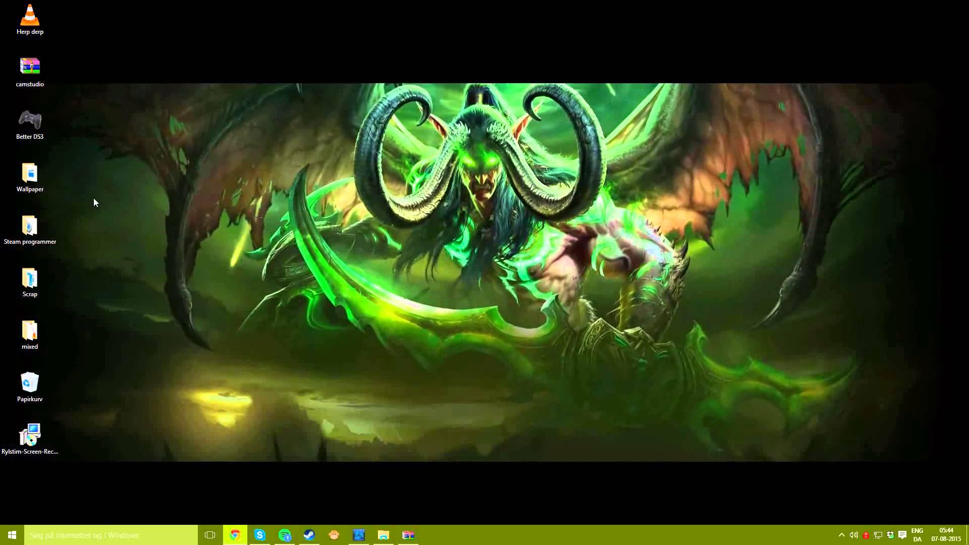 Free Download Illidan Stormrage Wallpaper World Of Warcraft Legion