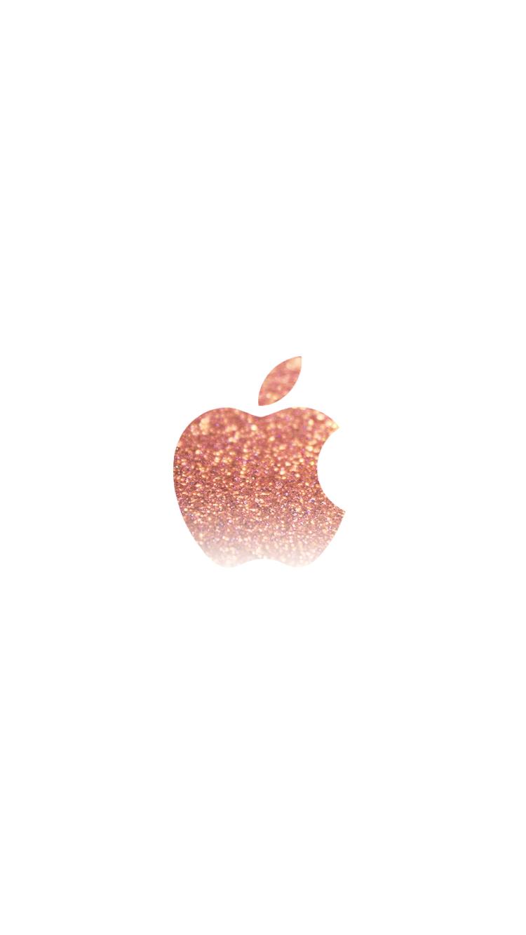 Rose gold iphone wallpaper wallpapersafari - Rose gold glitter iphone wallpaper ...