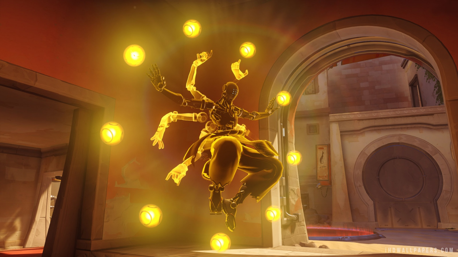 Zenyatta Overwatch HD Wallpaper   iHD Wallpapers 1600x900