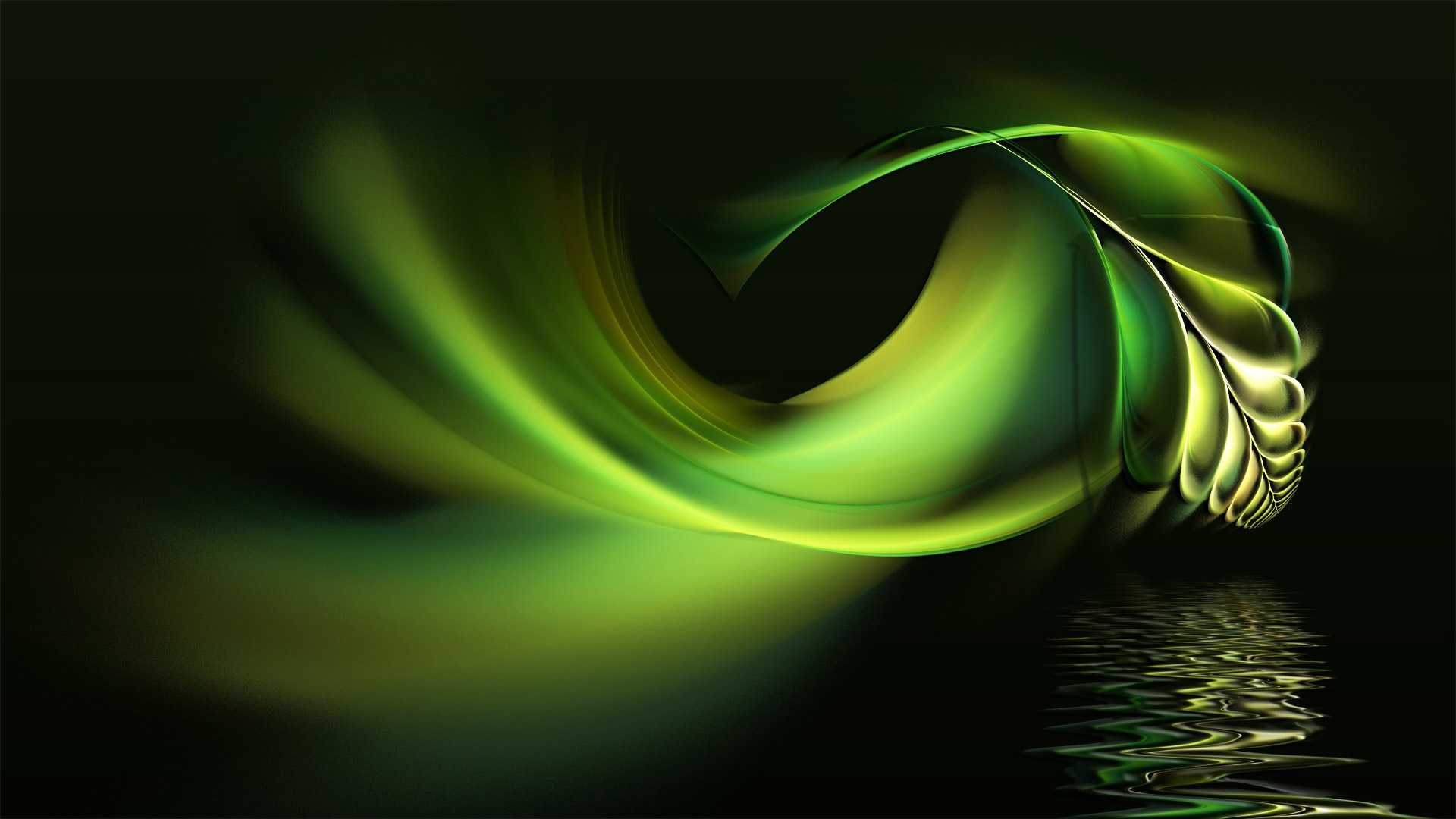 hd wallpaper abstract green wallpapers55com   Best Wallpapers for 1920x1080