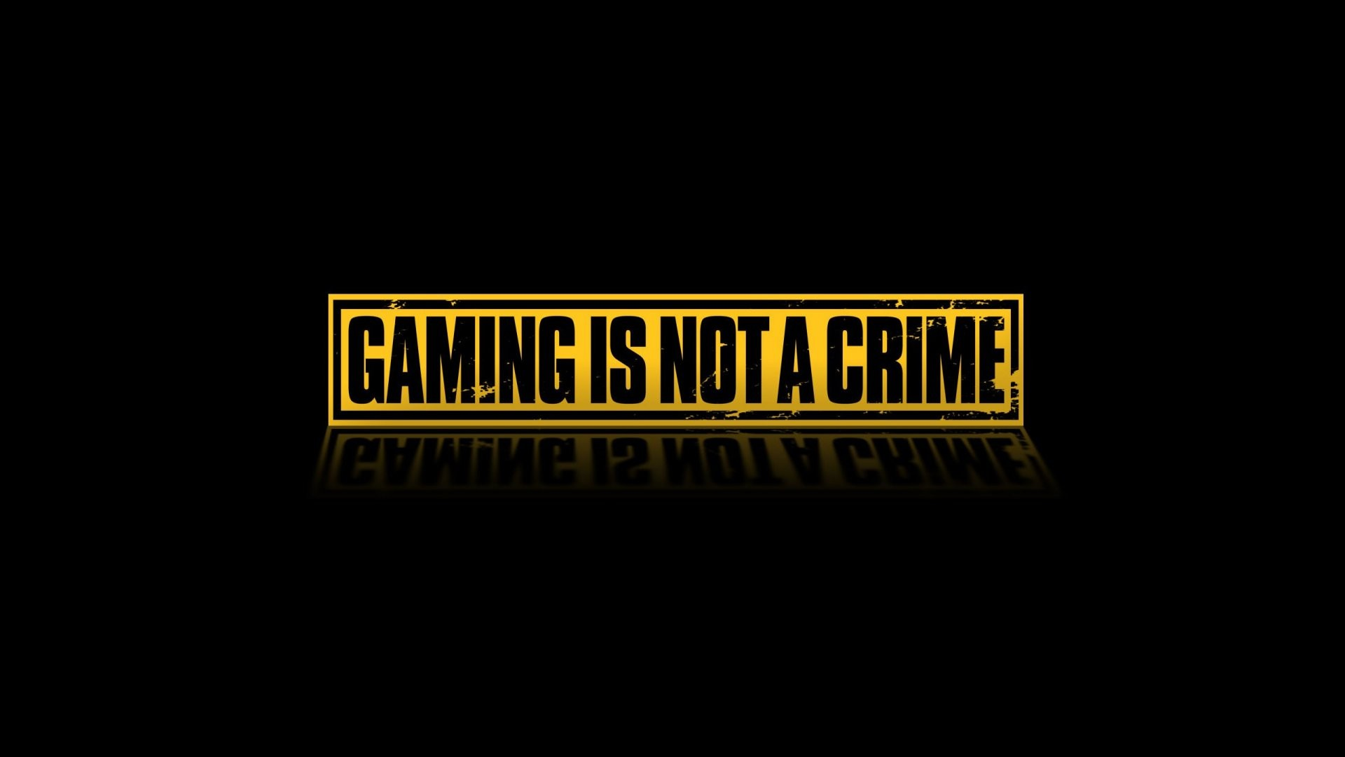 Download the Gaming Is Not A Crime Wallpaper Gaming Is Not A 1920x1080