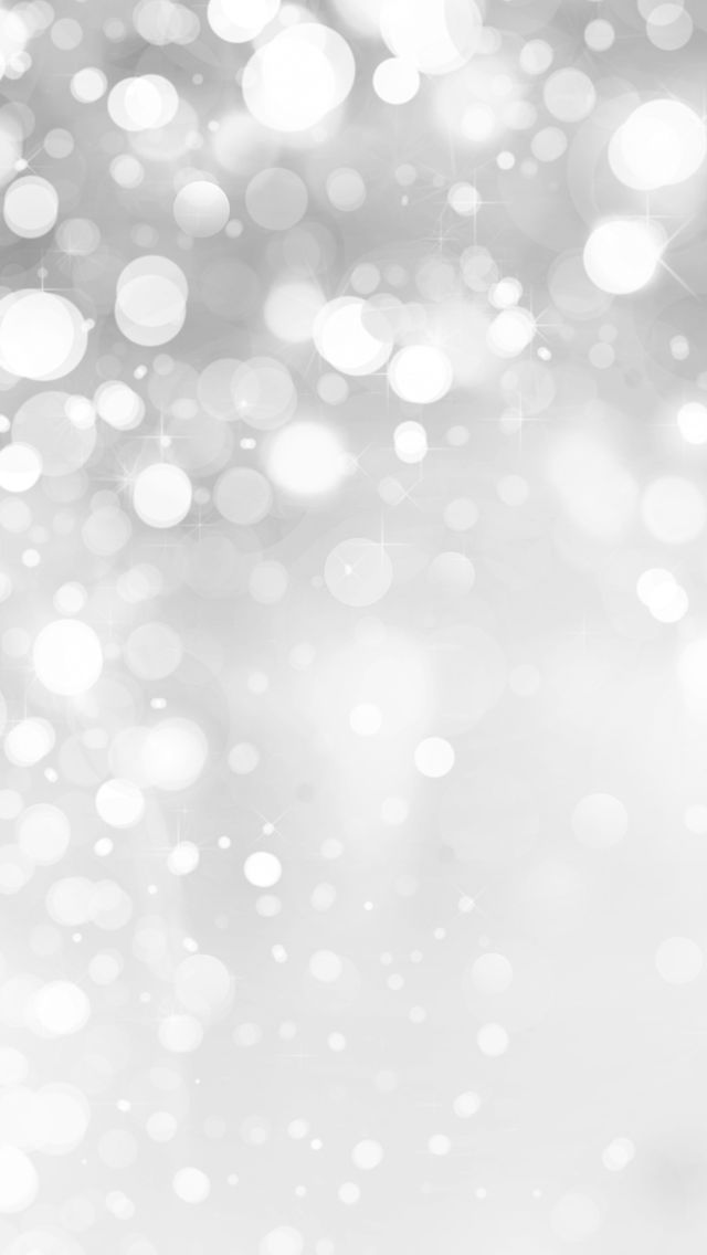 White Glitter Wallpaper Iphone Holiday 640x1136