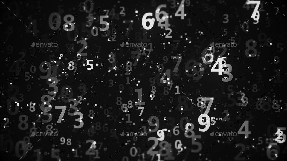Numbers Backgrounds Background Background s Numbers 960x540