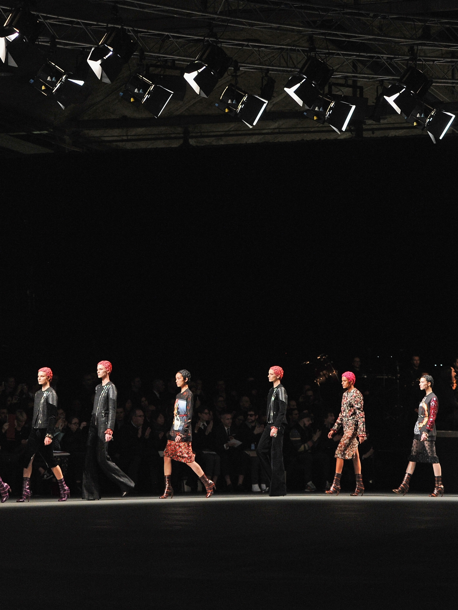 download Givenchy fashion show wallpapers and images 1536x2048