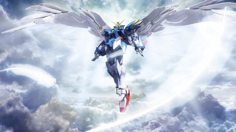 Home Gallery Mobile Suit Gundam Wing Wallpapers Wing Zero 790x444