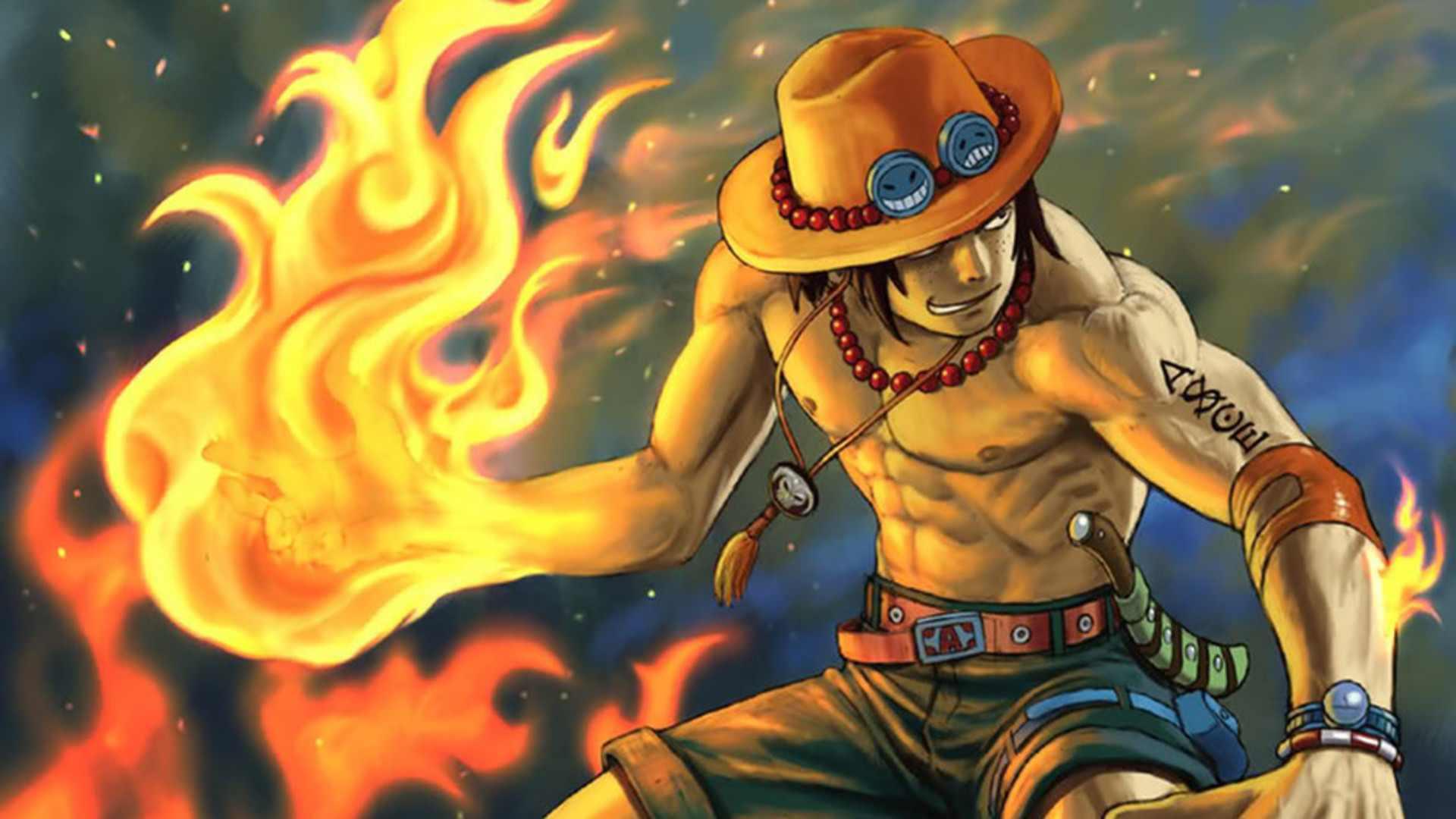 One Piece Wallpaper 1920x1080 One Piece Ace 1920x1080