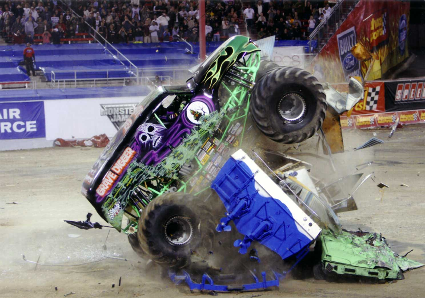 grave digger wallpaper - wallpapersafari - Grave Digger Truck Coloring Pages
