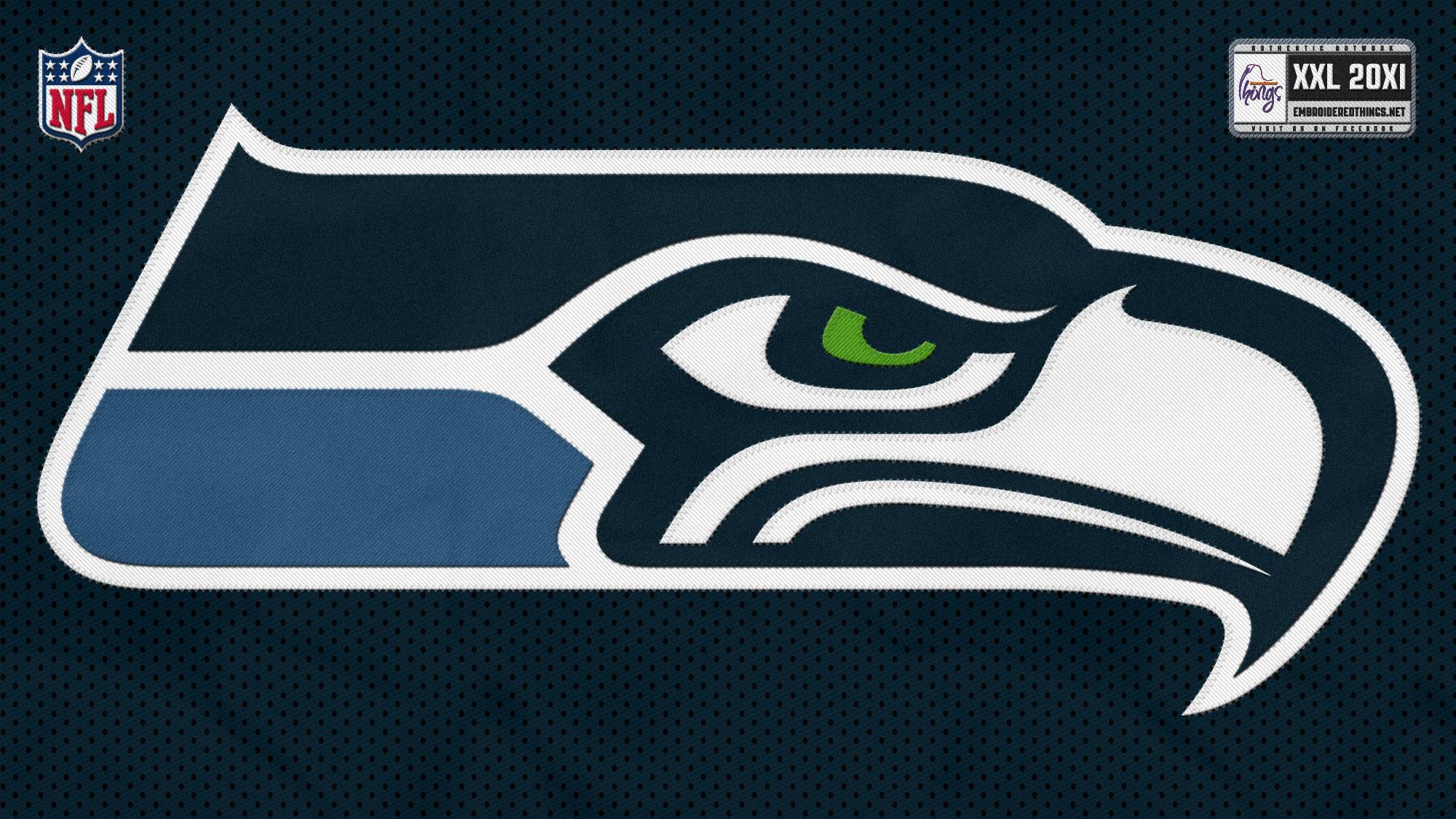 Seattle Seahawks nfl football sport logo wallpaper background