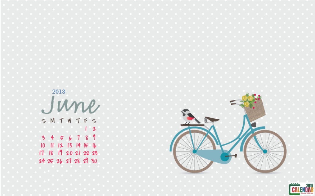 June 2018 HD Calendar Wallpaper Max Calendars 1058x659