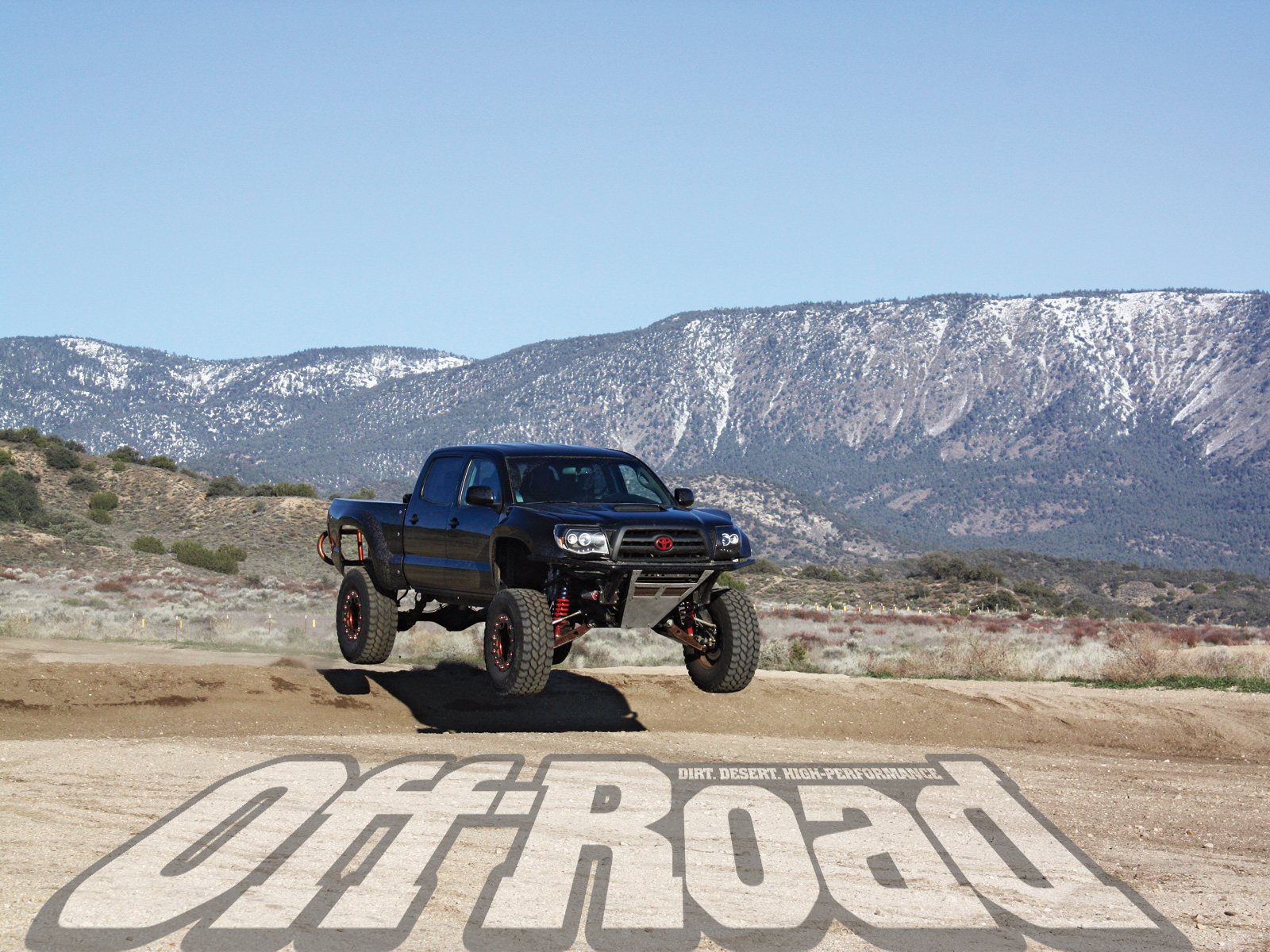 2008 Toyota Tacoma Diabolical Toy Wallpaper Front Angle Photo 1 1600x1200