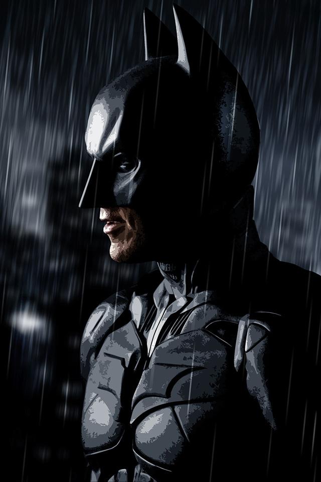 The Dark Knight Batman iPhone HD Wallpaper iPhone HD Wallpaper 640x960
